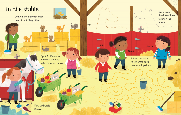Wipe-Clean Horse and Pony Activities [3]