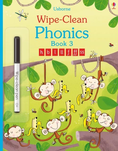Wipe-Clean Phonics Book 3 [0]
