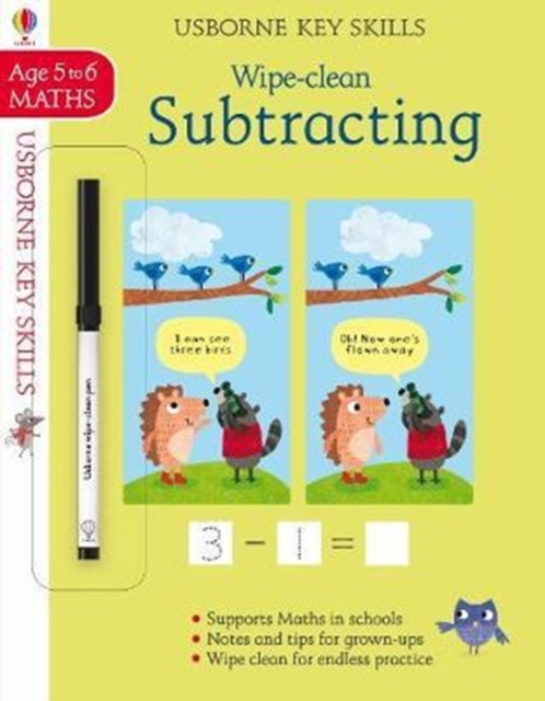 Wipe-clean Subtracting 5-6 [0]