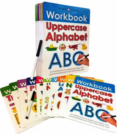 Wipe-Clean Workbook Collection 10 Books Set [2]