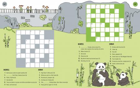 100 Children's Crosswords: Animals [2]