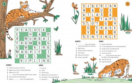 100 Children's Crosswords: Animals [3]