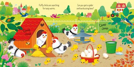 Book and 3 Jigsaws: On the Farm [5]