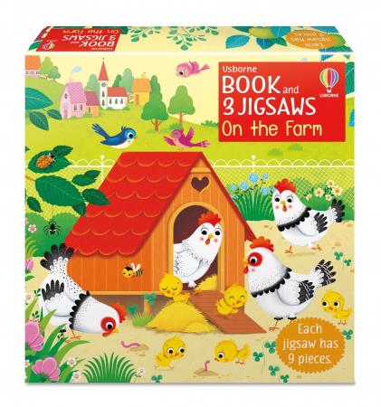 Book and 3 Jigsaws: On the Farm [0]