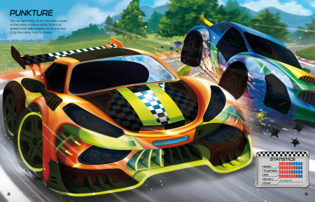 Build Your Own Supercars Sticker Book [4]