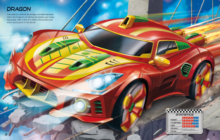 Build Your Own Supercars Sticker Book [1]