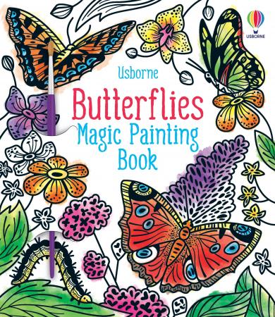 Butterflies Magic Painting Book [0]