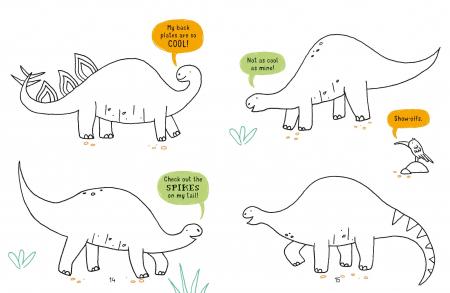 Doodling Dinosaurs Mini [1]