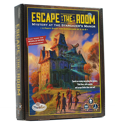 ESCAPE THE ROOM: MYSTERY AT THE STARGAZER'S MANOR [0]