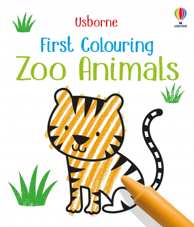 First Colouring Zoo Animals [0]