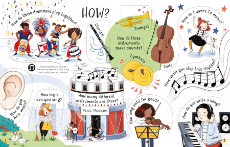 Lift-the-flap Questions and Answers About Music [1]