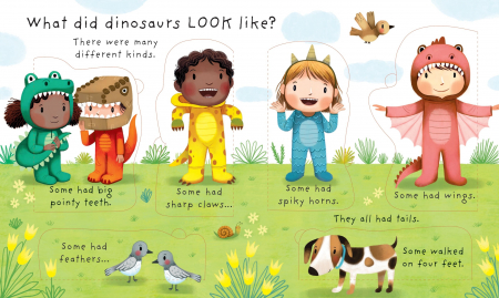Lift-the-flap Very First Questions and Answers Are Dinosaurs Real? [2]