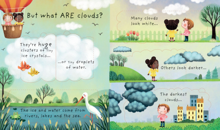 Lift-the-flap Very First Questions and Answers What are clouds? [2]