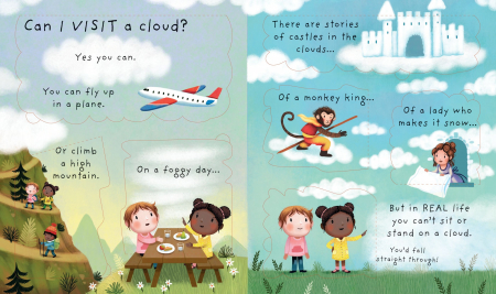 Lift-the-flap Very First Questions and Answers What are clouds? [3]