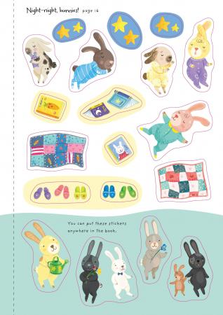 Little First Stickers Bunnies [7]