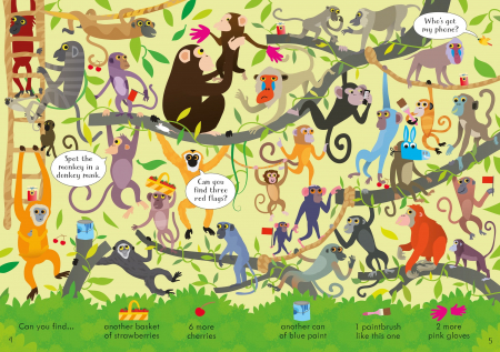 Look and Find Puzzles At the Zoo [2]