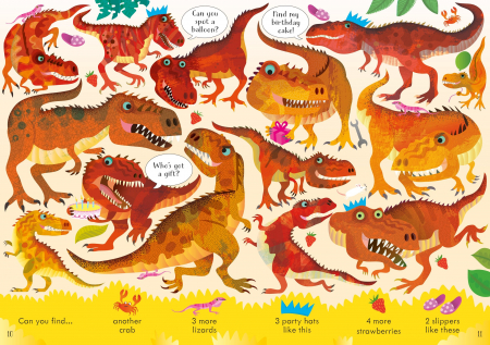 Look and Find Puzzles Dinosaurs [3]