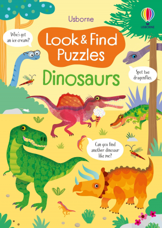 Look and Find Puzzles Dinosaurs [0]