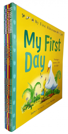 My first milestones collection 6 books set [0]