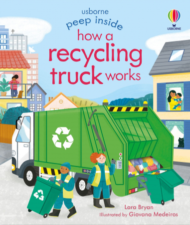 Peep Inside How a Recycling Truck Works [0]