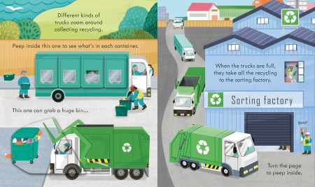 Peep Inside How a Recycling Truck Works [3]