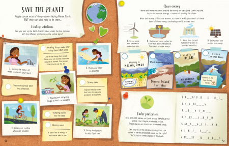 Planet Earth Activity Book [3]