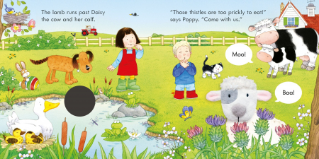 Poppy and Sam and the Lamb [1]