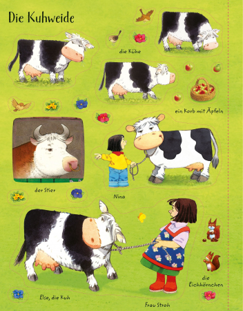 Poppy and Sam's Animals Sticker Book [2]