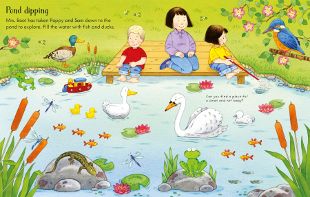 Poppy and Sam's Nature Sticker Book [2]