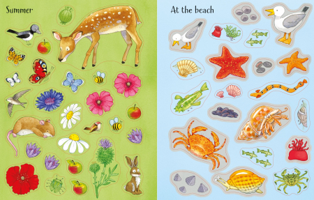 Poppy and Sam's Nature Sticker Book [3]