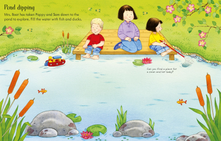 Poppy and Sam's Nature Sticker Book [1]