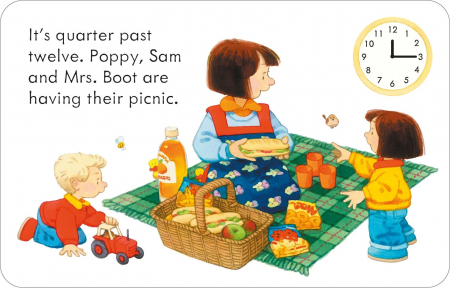 Poppy and Sam's Telling the Time Flashcards [3]
