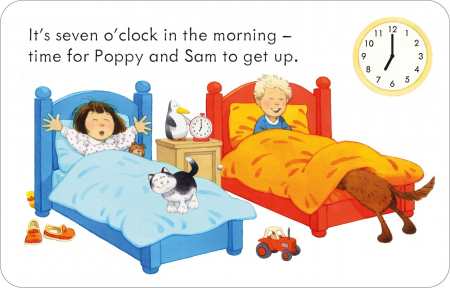 Poppy and Sam's Telling the Time Flashcards [6]