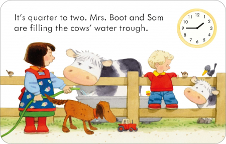 Poppy and Sam's Telling the Time Flashcards [1]