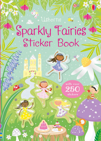 Sparkly Fairies Sticker Book [0]