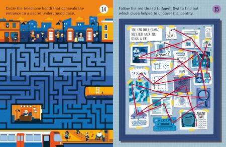 Spy Maze Puzzles [2]