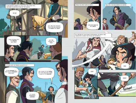 Three Musketeers Graphic Novel [2]
