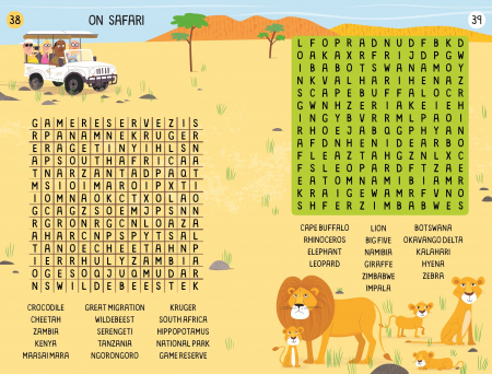 Travel Wordsearches [1]