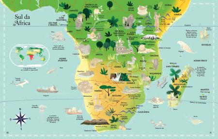 Usborne Atlas and Jigsaw The World [1]