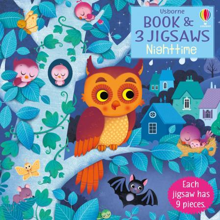 Usborne Book and 3 Jigsaws: Night time [0]