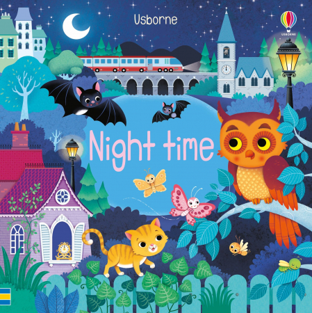 Usborne Book and 3 Jigsaws: Night time [4]