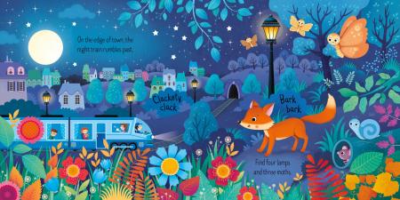 Usborne Book and 3 Jigsaws: Night time [1]