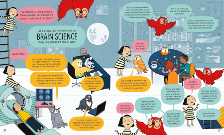 Usborne Book of the Brain and How it Works [2]