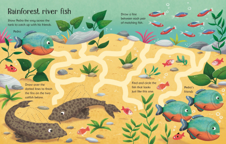 Wipe-Clean Aquarium Activities [3]