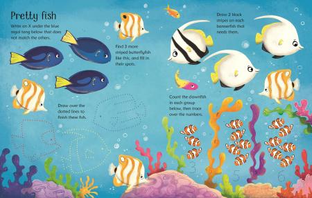 Wipe-Clean Aquarium Activities [2]