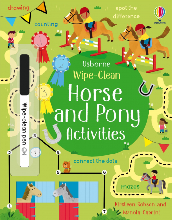 Wipe-Clean Horse and Pony Activities [0]