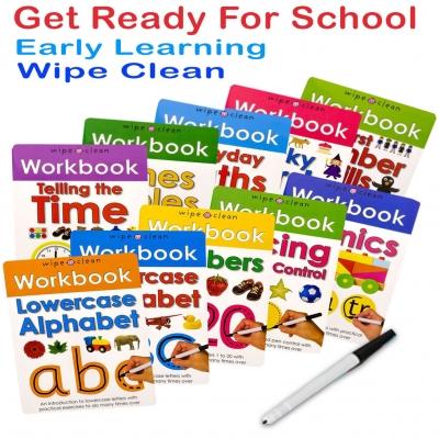 Wipe-Clean Workbook Collection 10 Books Set [1]