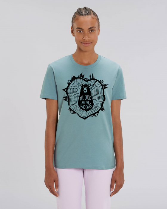 Tricou Unisex - All good in the woods 11