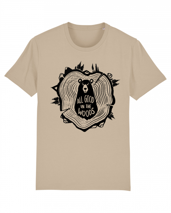Tricou Unisex - All good in the woods 0