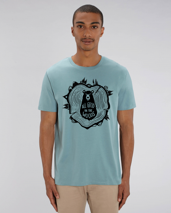 Tricou Unisex - All good in the woods 10